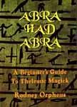 RODNEY ORPHEUS - Abrahadabra - Book english